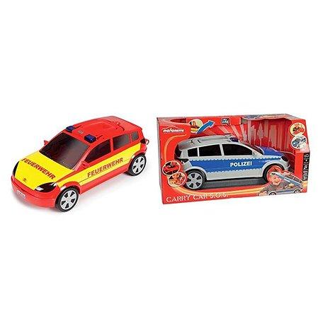 Автомобиль - кейс Majorette на 24 авто свет звук 45 см 1/4 в ассортименте