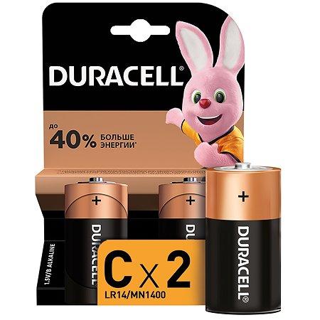 Батарейки Duracell Basic С 2шт LR14-BC2
