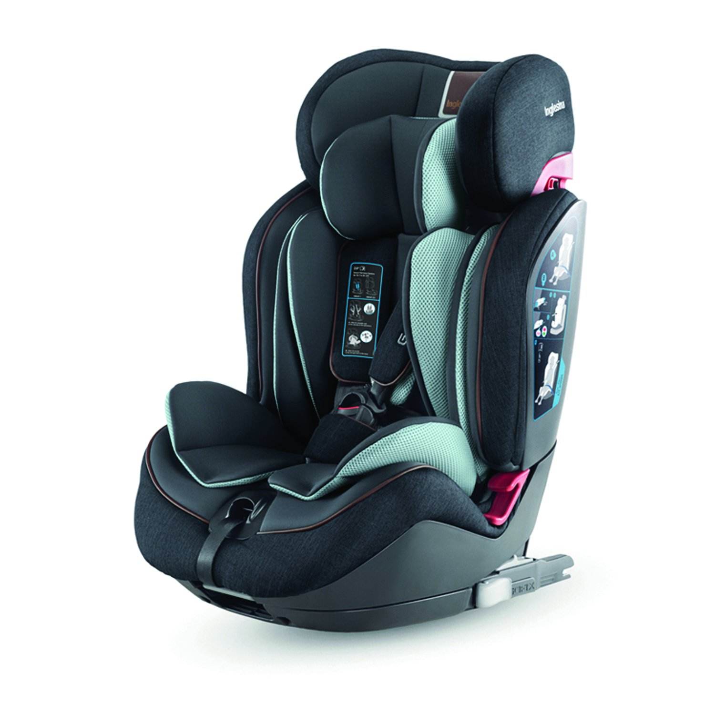 Автокресло Inglesina Gemino 123 I-Fix Black