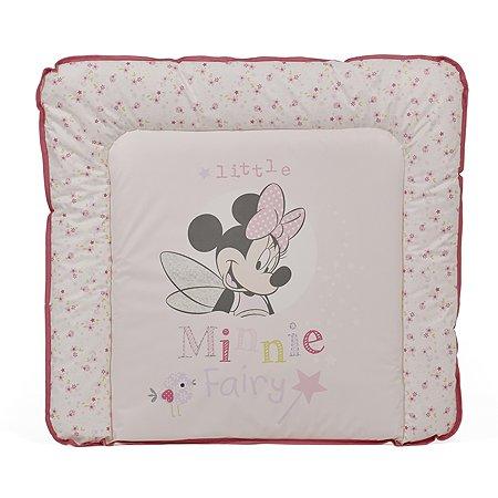 Доска пеленальная Polini kids Disney baby Минни Маус Фея мягкая Розовый