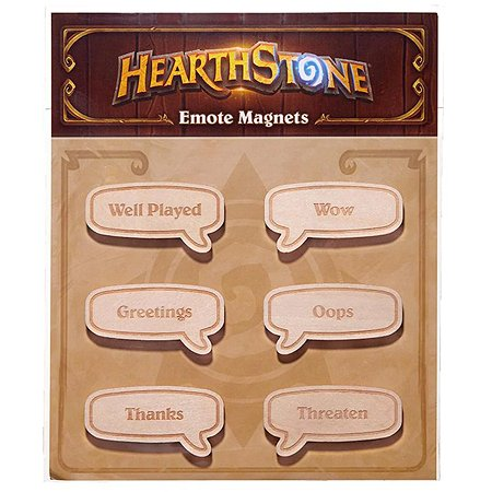 Набор магнитов Blizzard Hearthstone Emote B63751