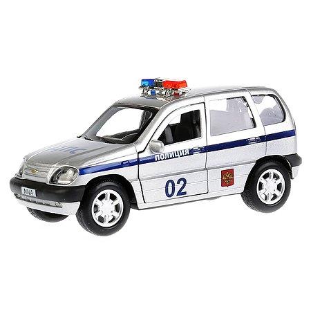 Машина Технопарк Chevrolet Niva Полиция инерционная 249895