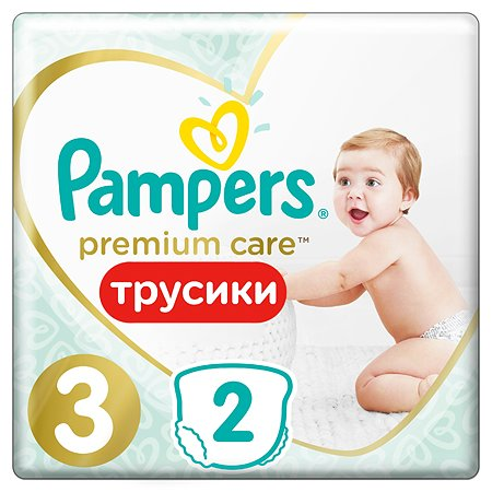 Подгузники-трусики Pampers Premium Care Pants 3 6-11кг 2шт