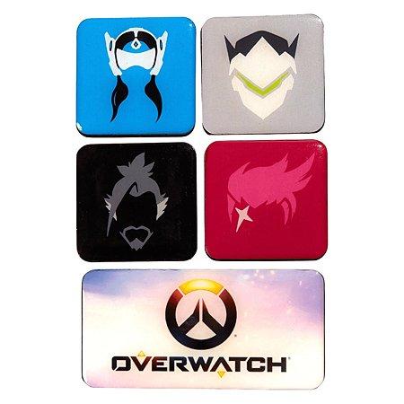 Набор магнитов Blizzard Overwatch 3 5штук B62500