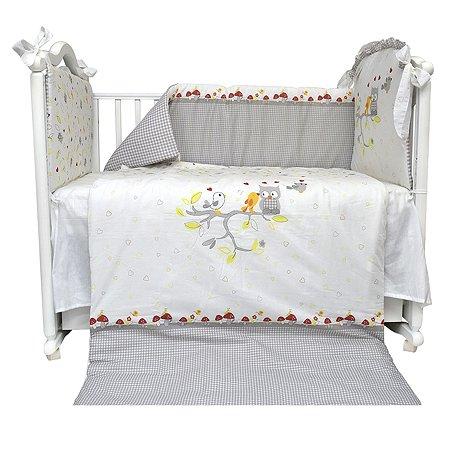 Комплект в кроватку L'Abeille I love you 4 предмета 5851/4