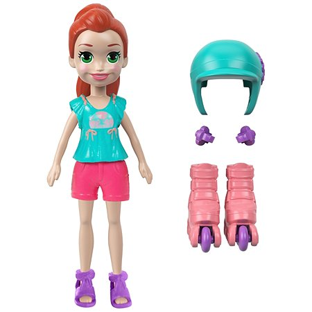 Кукла POLLY POCKET Лайла на роликах GCY39