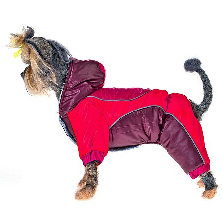 Комбинезон для собак Happy Puppy Фристайл 3 Красный