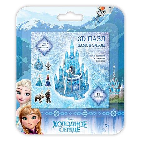 Пазл IQ 3D PUZZLE Frozen Замок Эльзы 16128