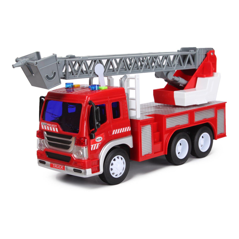 Машина Mobicaro 1:16 пожарная инерционная OTB0564716