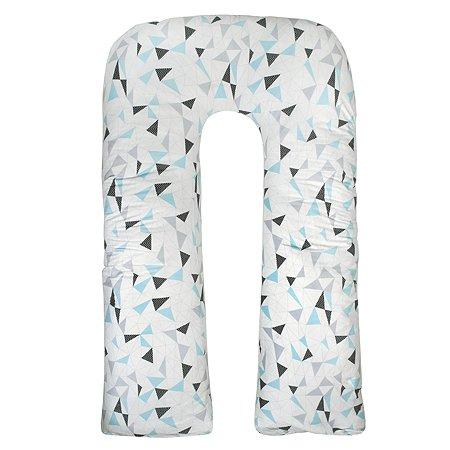 Подушка для беременных AMARO BABY Mild design edition Фигуры U-образная Белый