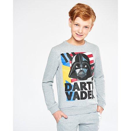 Толстовка Star Wars серая