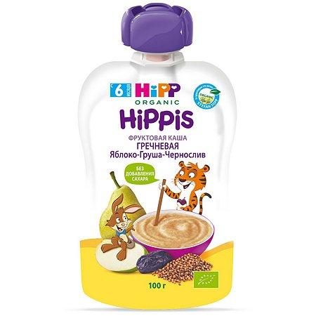 Пюре Hipp гречневая каша-фрукты 100г с 6месяцев