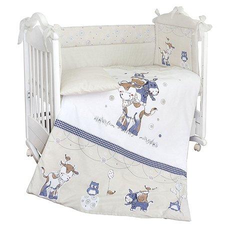 Комплект в кроватку Babyton Милка 4 предмета