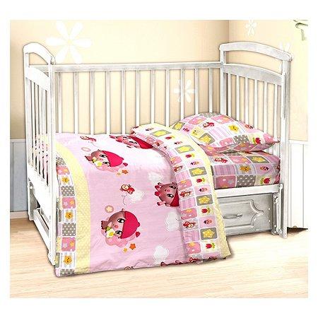 Комплект в кроватку Малышарики Нюшенька