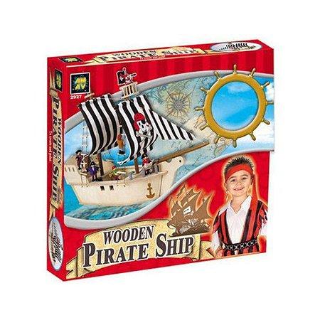 Набор Diamant Пиратский корабль из дерева