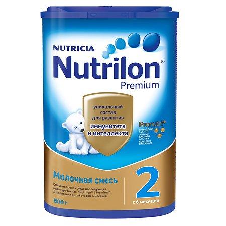 Смесь молочная Nutrilon Premium 2 800г с 6 месяцев