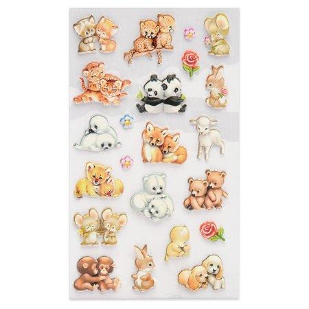 Наклейка декоративная зефирная Липляндия Животные