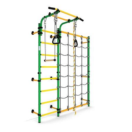 Шведская стенка ROMANA Карусель S3 ДСКМ-3С-8.06.Г1.490.01-28 Зелёный-жёлтый