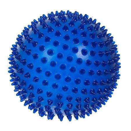 Мяч Малышок Ёжик 18 см синий