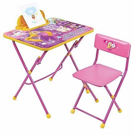 Комплект детской мебели NiKA kids Рапунцель Д4Р