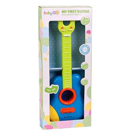 Музыкальная игрушка Baby Go Моя первая гитара