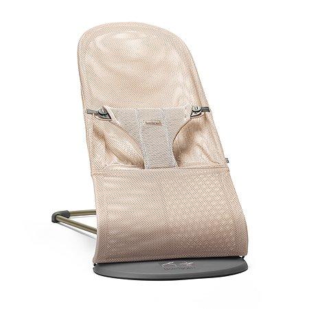 Кресло-шезлонг BabyBjorn Bliss Mesh Розовый