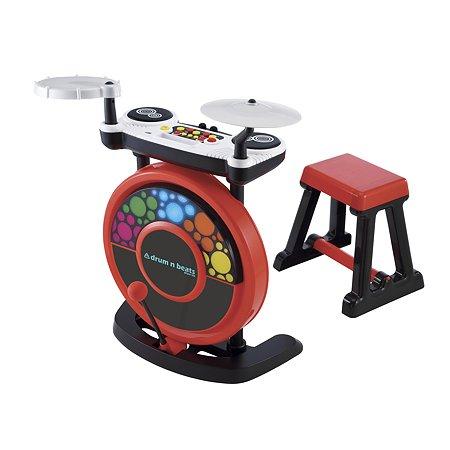 Игрушка ELC Барабанная установка электронная +стул 143476