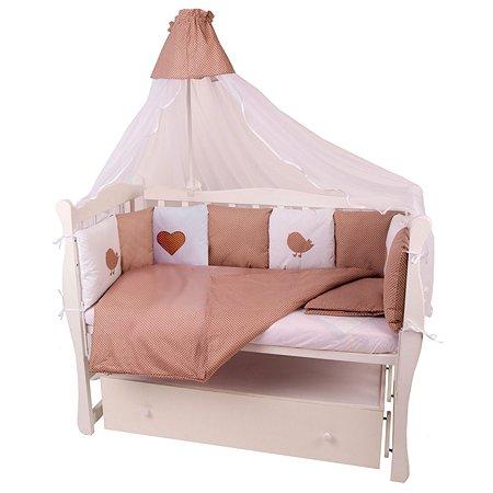 Комплект постельного белья AMARO BABY Малыш 7предметов Кофе