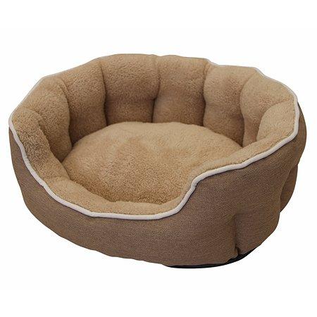 Лежак для животных Nobby Brenta малый Светло-коричневый
