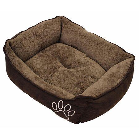 Лежак для животных Nobby Mero средний Коричневый