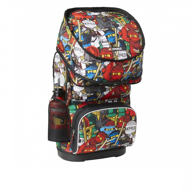 110ce9dce68b Рюкзак школьный LEGO с сумкой для обуви ланчбоксом и бутылкой Ninjago Comic