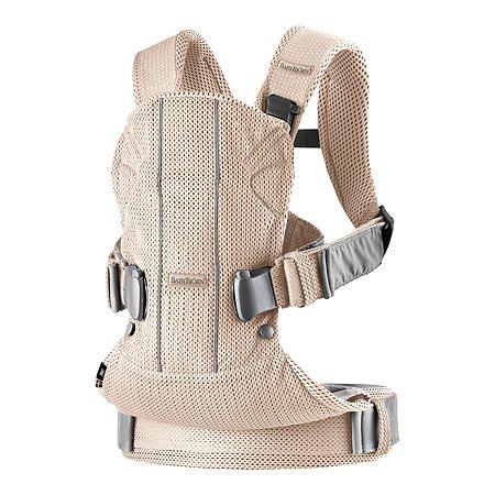 Рюкзак для переноски детей BabyBjorn One Mesh Розовый