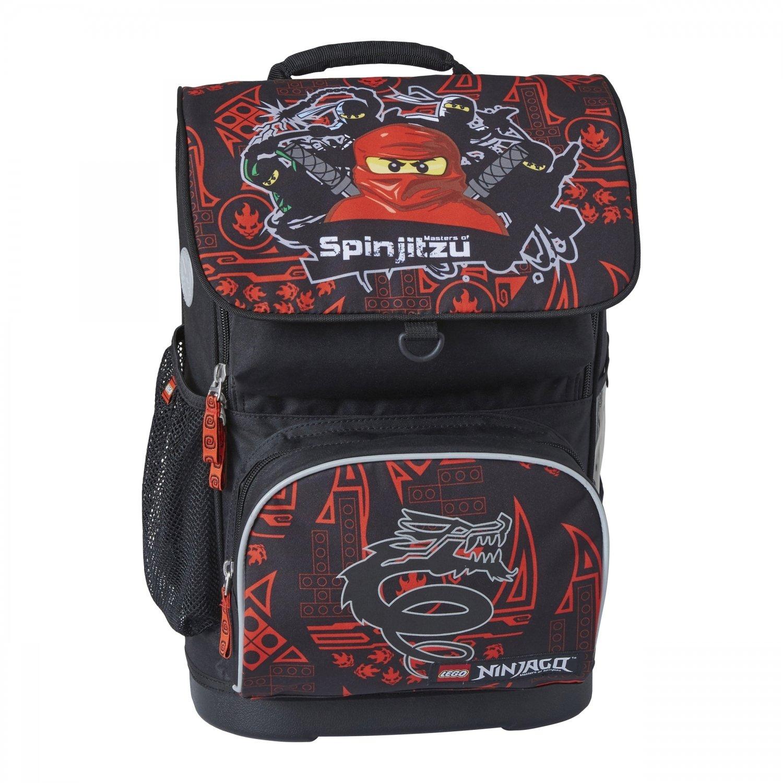 504028640bf8 Рюкзак школьный LEGO с сумкой для обуви ланчбоксом и бутылкой Team Ninjago