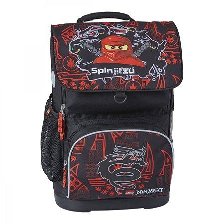 Рюкзак школьный LEGO с сумкой для обуви ланчбоксом и бутылкой Team Ninjago