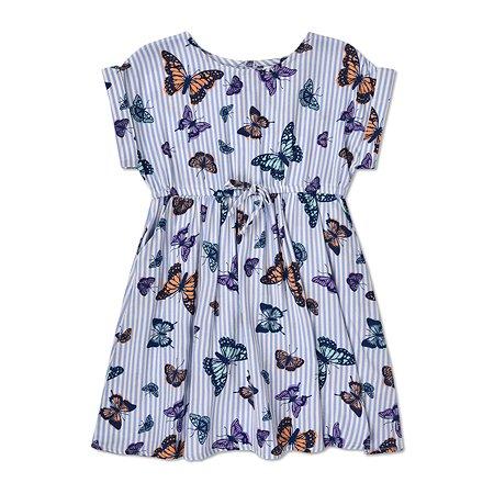 Платье BabyGo голубое