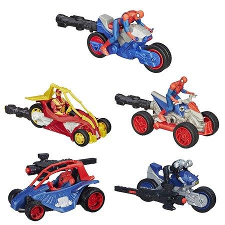 Мотоцикл Hasbro Человека-Паука в ассортименте