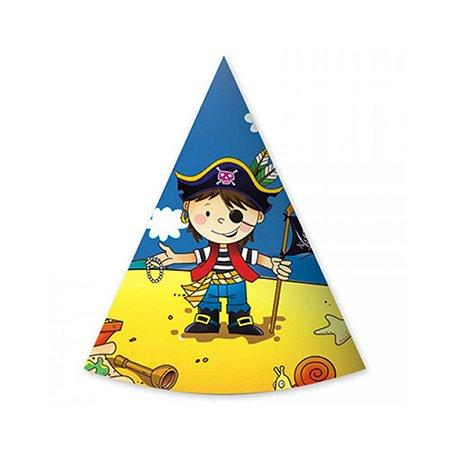 Колпак GCI Маленький пират для мальчиков 6 шт в ассортименте