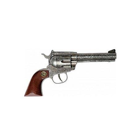 Пистолет Schrodel Marshal antique 100 зарядов (рукоятка из дерева)22см.