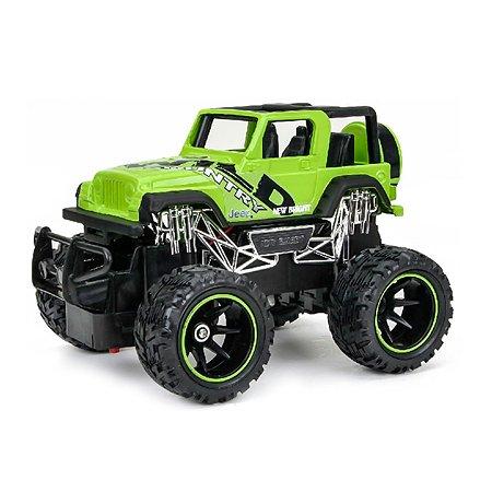 Машина р/у New Bright Jeep Wrangler (зелёный) 1:24