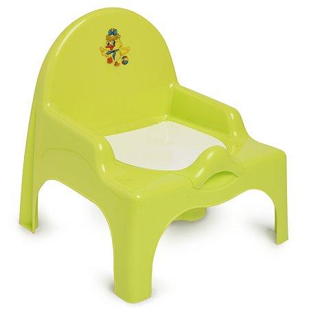 Стульчик детский Полимербыт туалетный Салатовый