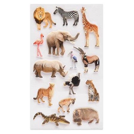 Наклейка декоративная зефирная Липляндия Животные саванны