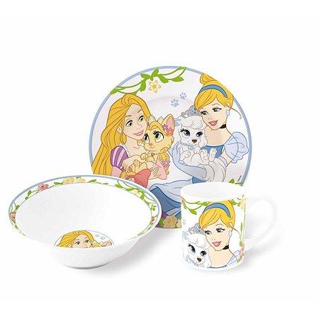 Набор керамической посуды STOR в подарочной упаковке Snack Set Palace Pets (3 шт.)