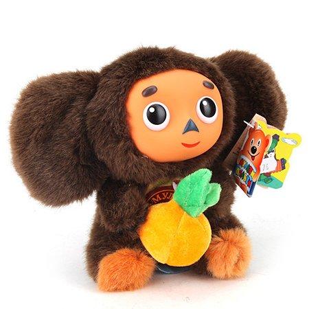 Игрушка мягкая Мульти-Пульти Чебурашка с апельсином 112176