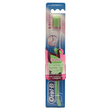 Зубная щётка Oral-B Зеленый чай Мягкая
