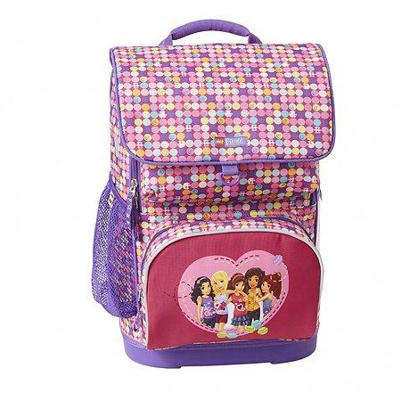 Рюкзак школьный LEGO с сумкой для обуви ланчбоксом и бутылкой Friends Confetti