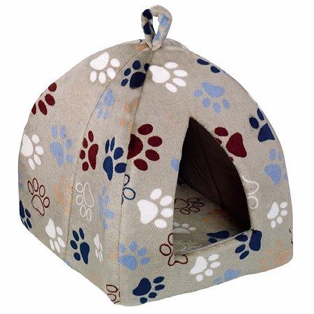 Домик для кошек Nobby Lissi малый Светло-серый