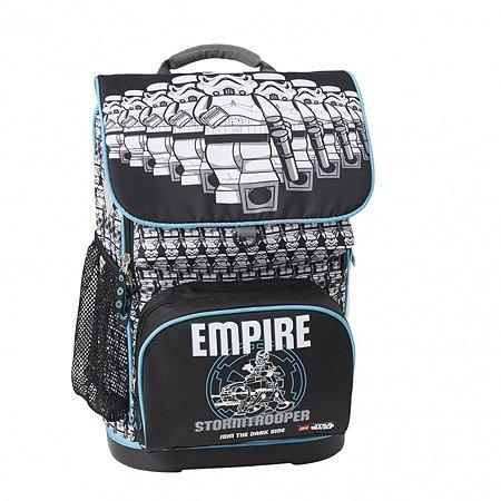 Рюкзак школьный LEGO с сумкой для обуви ланчбоксом и бутылкой SW/Stormtroopers