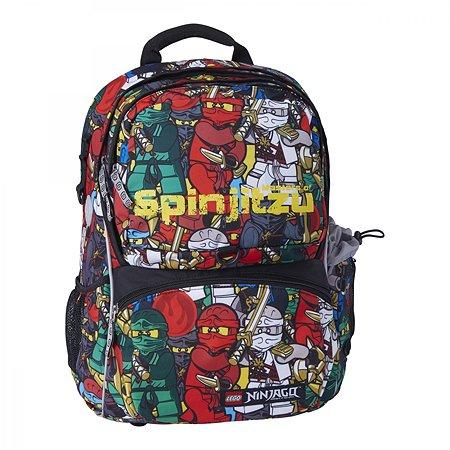Рюкзак школьный LEGO с сумкой для обуви ланчбоксом и бутылкой Ninjago Comic