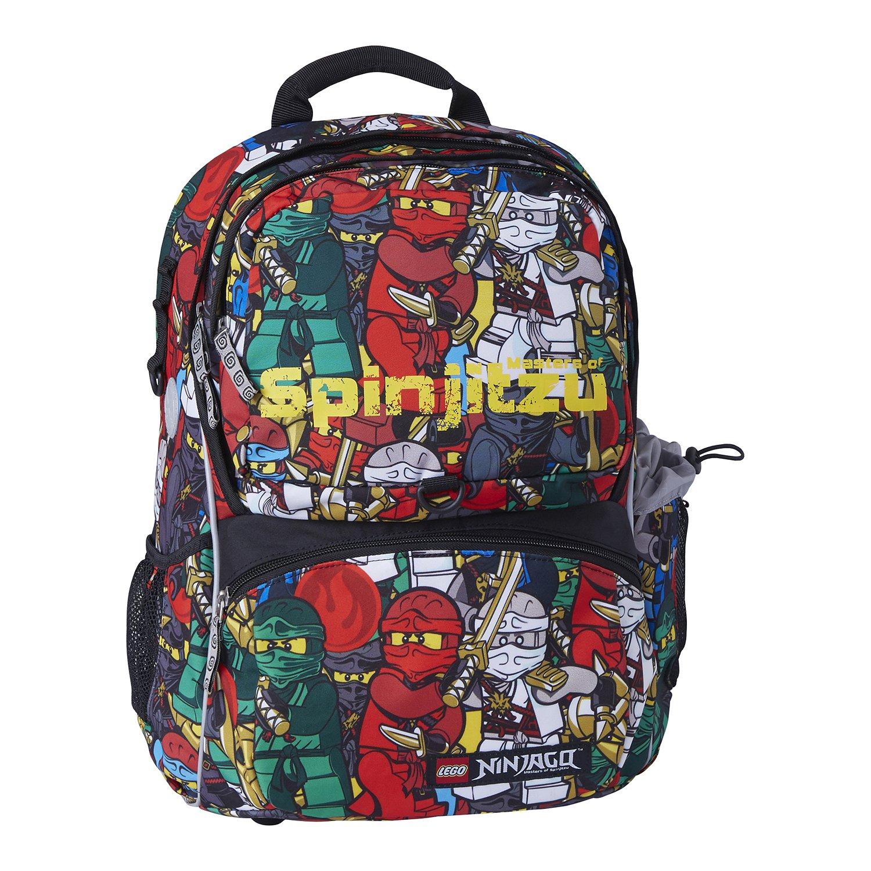 9e90dabb1976 Рюкзак школьный LEGO с сумкой для обуви ланчбоксом и бутылкойTeam Ninjago