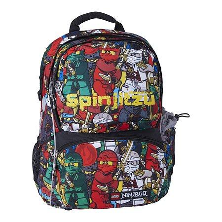 Рюкзак школьный LEGO с сумкой для обуви ланчбоксом и бутылкойTeam Ninjago